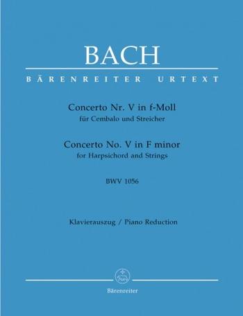 Concerto F Minor No.5: Piano  (Barenreiter)