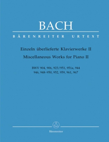 Miscellaneous Works For Piano: Book 2  (Barenreiter)