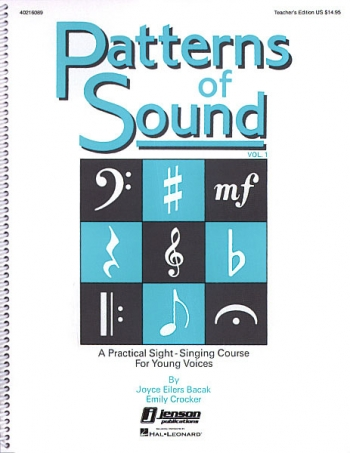 Patterns Of Sound: 1: Teachers Book
