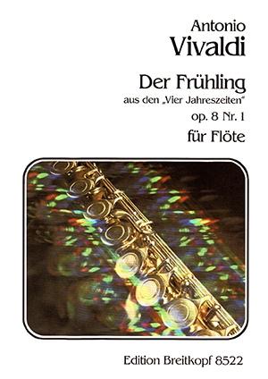 Four Seasons: Spring: Op8 No1: Flute Solo  (Breitkopf)