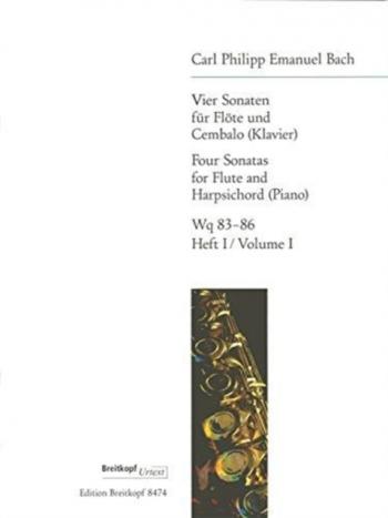 4 Sonatas: Vol.1: Flute & Piano (Breitkopf)