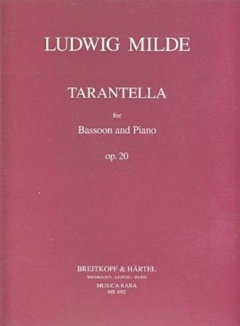 Tarantella Op.20: Bassoon  (Musica Rara)