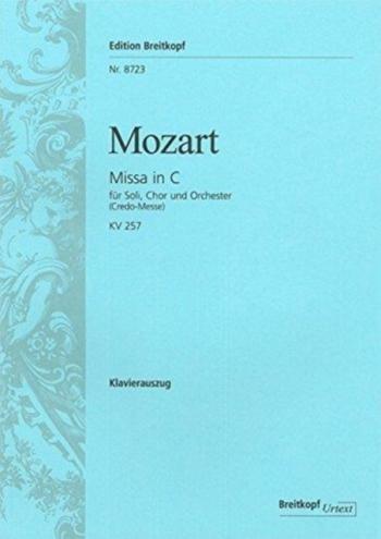 Missa In C: Kv257: Vocal (Breitkopf)