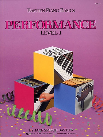 Bastien Piano Basics: Performance Level 1