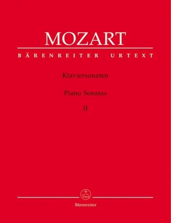 Sonatas: Vol.II:  Nos10-18 Piano (Barenreiter)