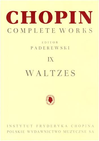 Complete Works Vol 9: Waltzes: Piano (paderewski)