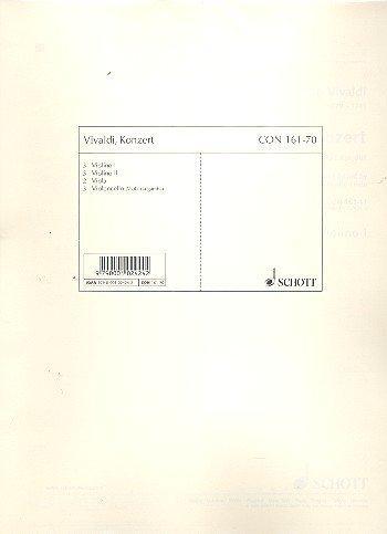 Vivaldi: Concerto: C Major: String: Set Of Parts