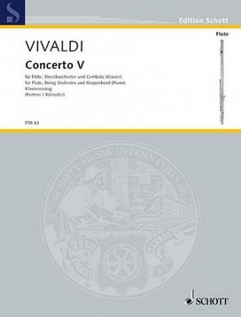 Concerto: F : Op10: 5: Rv434: Flute & Piano (Schott)