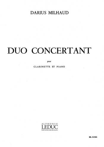 Duo Concertante: Clarinet & Piano