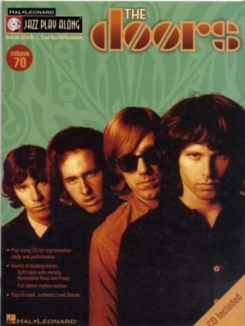 Jazz Play Along Vol.70: The Doors: Bb or Eb or C Instruments: Book & CD