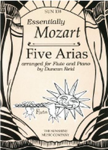 Essentially Mozart: 5 Arias: Flute And Piano