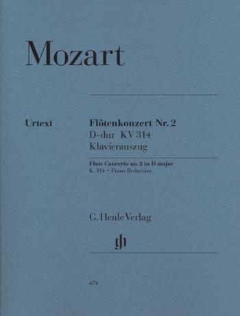 Concerto D Major K314: Flute & Piano (Henle)
