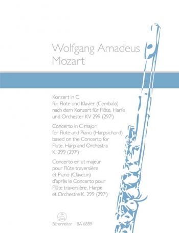 Concerto C Major: Flute And Piano (Barenreiter)