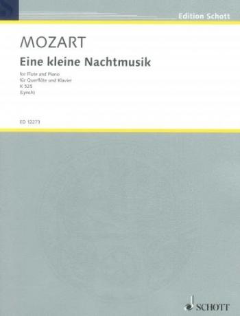 Eine Kleine Nachtmusik K525: Flute And Piano (Schott)