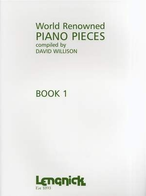 World Renowned Piano Pieces: Book 1