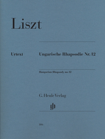 Hungarian Rhapsody: 12: Piano  (Henle Ed)