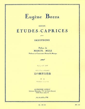 12 Etudes Caprice Pour Saxophone: Alto Saxophone: Studies