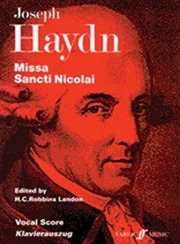 Missa Sancti Nicolai: Vocal Score (Faber)