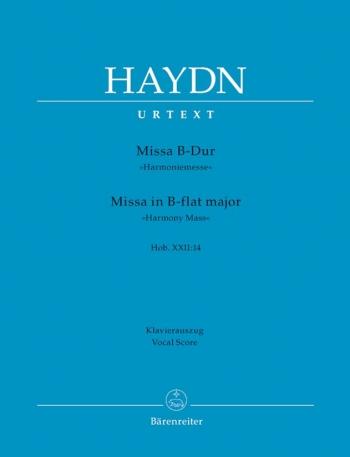 Harmony Mass: Vocal Score
