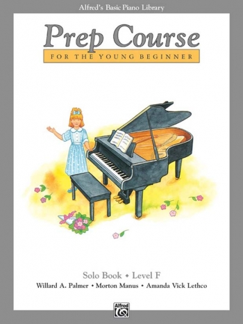 Alfred Basic Prep Course For the Young Beginner Solo Book: Level F