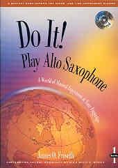 Do It Play Alto Sax: 1: Bk&cd