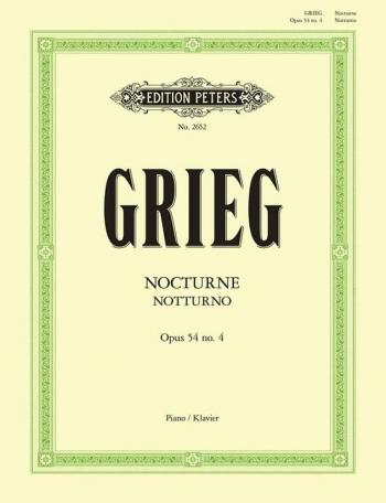 Nocturne C Major Op.54: Piano (Peters)