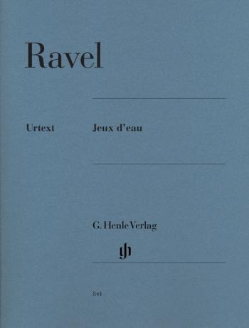 Jeux D Eau: Piano  (Henle Ed)