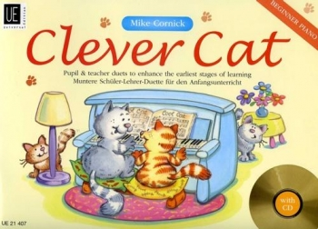 Clever Cat: Beginner Piano Duets : Very Easy Level