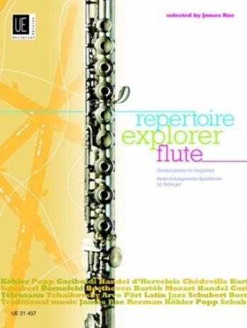 Repertoire Explorer: Graded Pieces 1-3: Flute & Piano (Rae)
