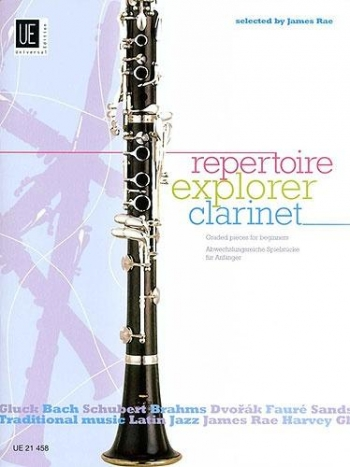 Repertoire Explorer: Graded Pieces 1-3: Clarinet (James Rae)