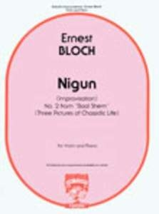Nigun (Improvisation) Baal Shem No 2: Violin & Piano (Carl Fischer)