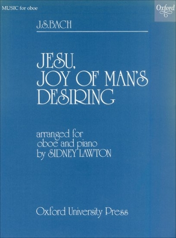 Jesu Joy Of Mans Desiring: Oboe & Piano (Oxford)