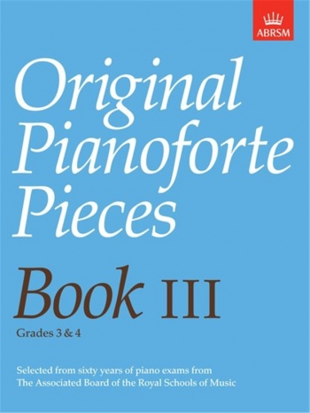 Original Pianoforte Pieces: Book 3