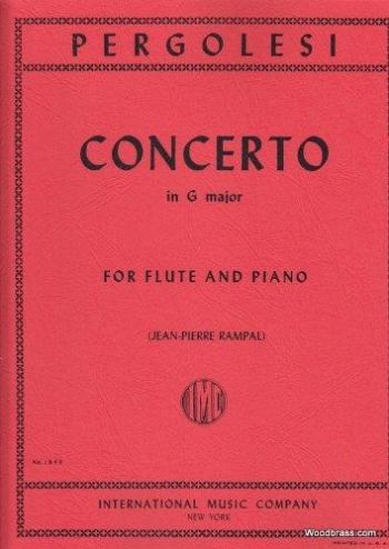 Concerto G Major Flute and Piano (International)