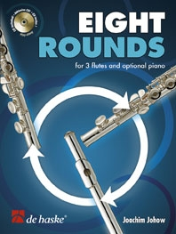 Eight Rounds: Flute Trio Book & CD