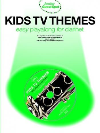 Junior Guest Spot: KidsTv Themes: Clarinet: Book & CD