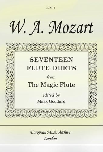 17 Flute Duets From The Magic Flute
