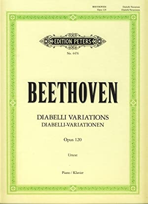 Variations Op120 Diabelli: Variations: Piano (Peters)