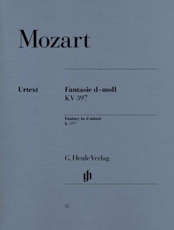 Fantasie In D Minor K397: Piano (Henle Ed)