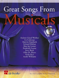 Great Songs From Musicals: Flute: Book & CD