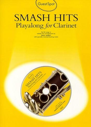Guest Spot: Smash Hits: Clarinet: Book & CD