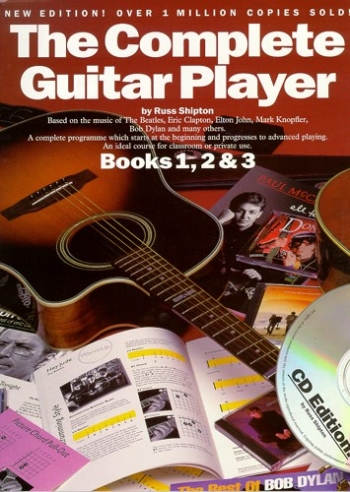Complete Guitar Player: Book 1,2 and 3 : Tutor: New Edition