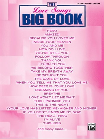 The Big Book: Love Songs