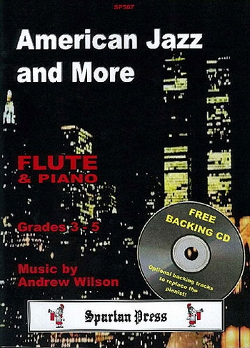 American Jazz And More Grade 3-5: Flute