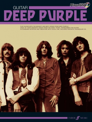 Deep Purple: Authentic Playalong:: Guitar Tab Book & CD