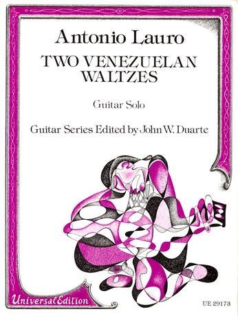 2 Venezuelan Waltzes: Guitar