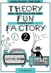 Theory Fun Factory Vol.2: Theory Workbook (elliott)