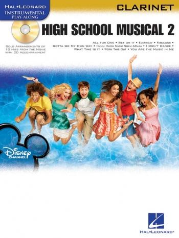 Instrumental Play-along: High School Musical 2: Clarinet: Bk&cd