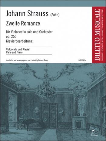 Zweite Romanze: Op255: Cello