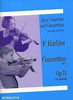 Concertino G Op.11: Violin Solo (Bosworth)